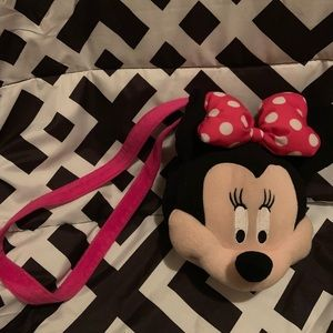 Mini Mouse Plush Purse